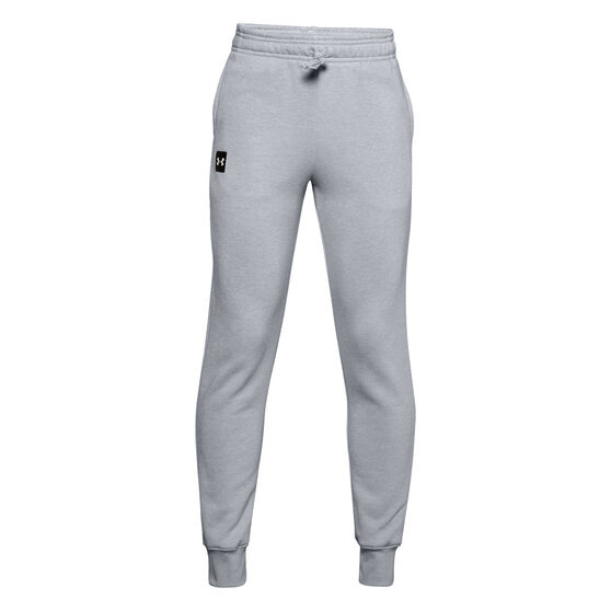Under Armour Boys VF Rival Fleece Pants, Grey, rebel_hi-res