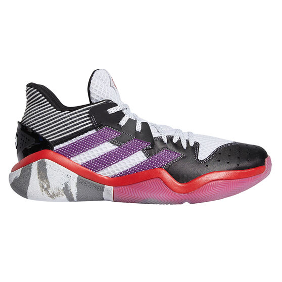 adidas Harden Step-Back Men Basketball Shoes White US 11, White, rebel_hi-res