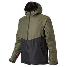 SVNT5 Mens Selwyn Jacket Khaki / Grey S, Khaki / Grey, rebel_hi-res