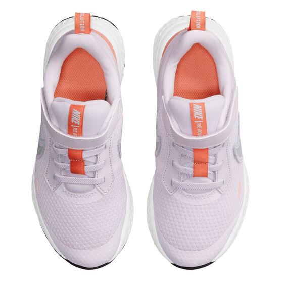 Nike Revolution 5 Kids Running Shoes, Lilac/White, rebel_hi-res