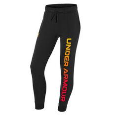 Under Armour Mens UA Rival Fleece Max Jogger Pants Black XS, Black, rebel_hi-res
