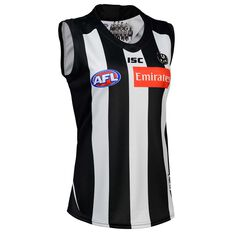Collingwood Magpies 2020 Womens Home Guernsey Black / White 8, Black / White, rebel_hi-res