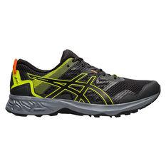 Asics GEL Sonoma 5 Mens Trail Running Shoes Grey / Black US 7, Grey / Black, rebel_hi-res
