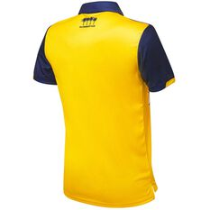 Central Coast Mariners FC 2020/21 Mens Home Jersey, Yellow, rebel_hi-res