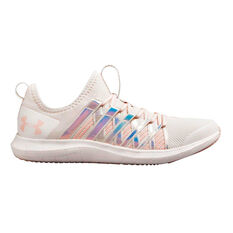 Under Armour Infinity Kids Running Shoes Pink US 4, , rebel_hi-res