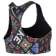 Nike Womens Victory Hyper Flora Sports Bra Print XS, Print, rebel_hi-res