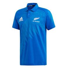 All Blacks Rugby World Cup 2019 Y-3 Mens Anthem Polo Blue S, Blue, rebel_hi-res