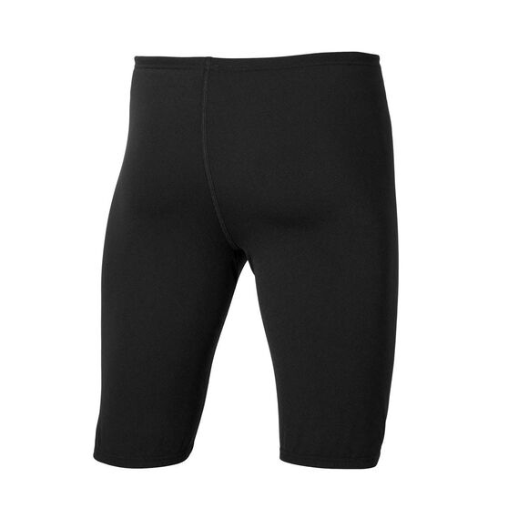 Speedo Mens Jammer Swim Shorts, Black, rebel_hi-res