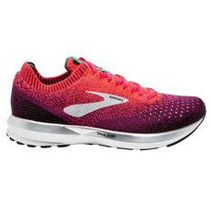 Brooks Levitate 2 Womens Running Shoes Pink / Black US 6, Pink / Black, rebel_hi-res