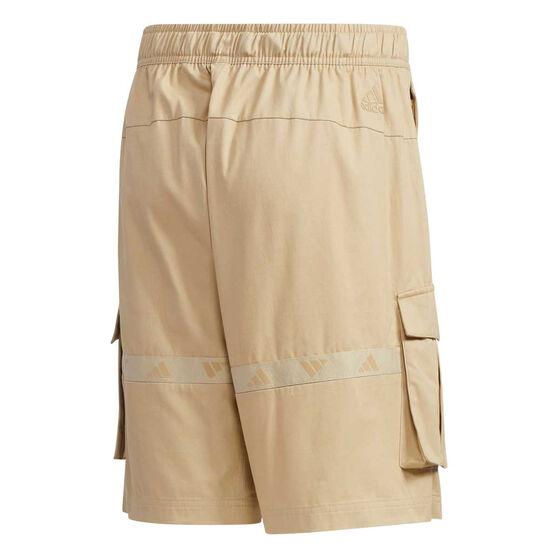 adidas Mens UB Cargo Shorts Beige M, Beige, rebel_hi-res