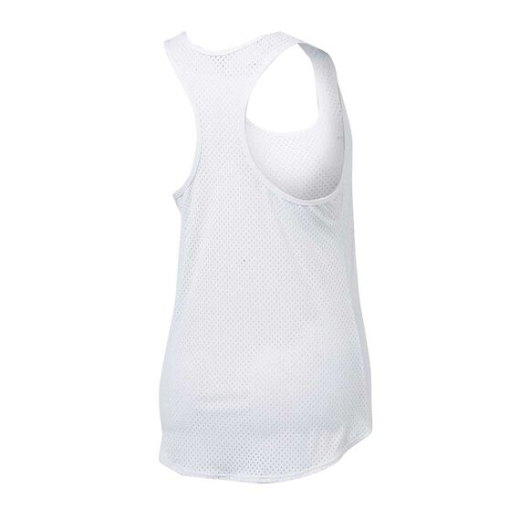 Running Bare Women's Back To Bare Tank, White, rebel_hi-res