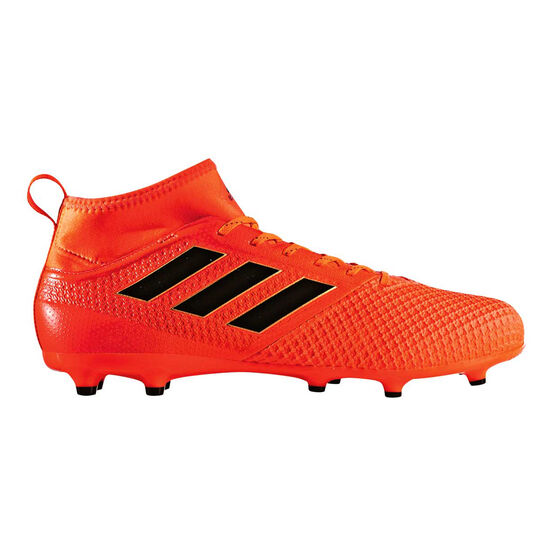 adidas ACE 17.3 Mens Football Boots Black   Red US 7 Adult  61446f1d5