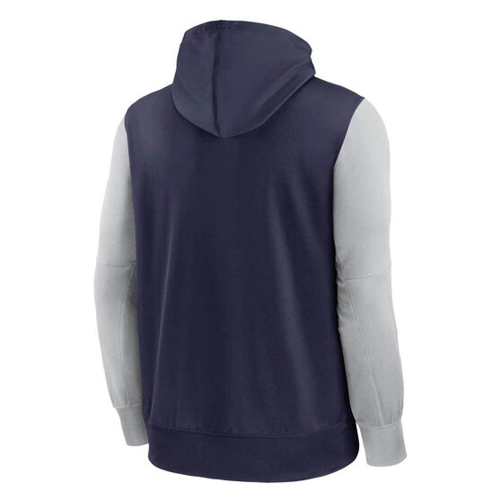 Nike Dallas Cowboys 2020 Mens Therma Full Zip Hoodie, Navy, rebel_hi-res