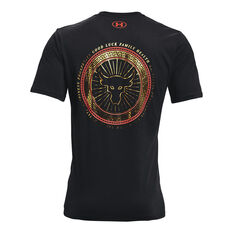 Under Armour Mens Project Rock Chinese New Year Tee Black XS, Black, rebel_hi-res