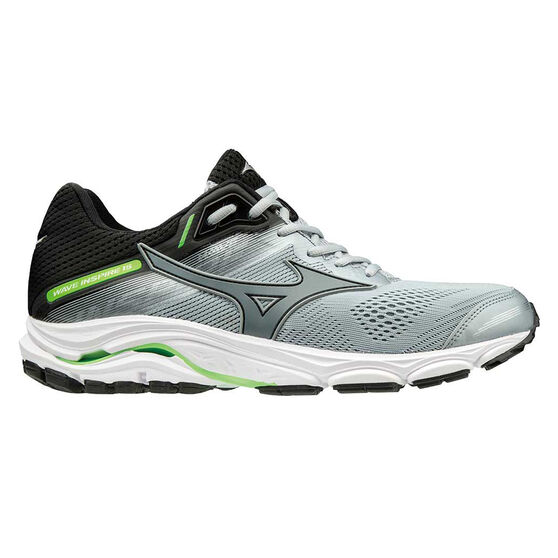Mizuno Wave Inspire 15 Mens Running Shoes, Black / Grey, rebel_hi-res