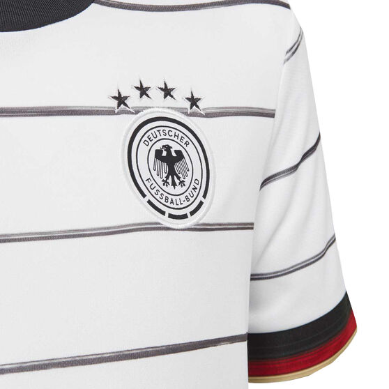 Germany 2020 Kids Home Jersey, White, rebel_hi-res