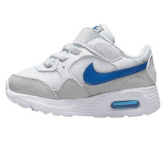 Nike Air Max SC Toddlers Shoes White/Blue US 6, White/Blue, rebel_hi-res