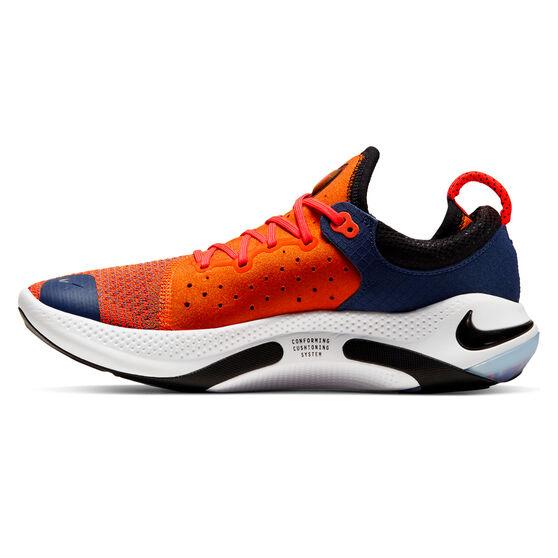 Nike Joyride Mens Running Shoes, Orange / Black, rebel_hi-res