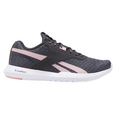 Reebok Reago Essential 2 Womens Training Shoes Grey/Pink US 6, Grey/Pink, rebel_hi-res