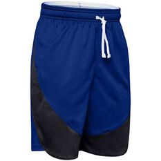 Under Armour Boys SC30 Curry Shorts Royal Blue / White XS, Royal Blue / White, rebel_hi-res