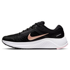 Nike Air Zoom Structure 23 Womens Running Shoes Black US 6, Black, rebel_hi-res