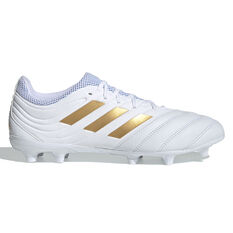 adidas Copa 19.3 Football Boots White / Gold US Mens 7 / Womens 8, , rebel_hi-res