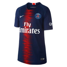f9a822ad7eb1 Paris Saint Germain FC 2018   19 Mens Replica Home Jersey