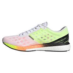 adidas Adizero Boston 9 Mens Running Shoes White/Black US 7, White/Black, rebel_hi-res