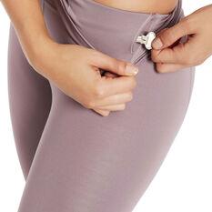 Nimble Womens All Day High Rise Tights Purple S, Purple, rebel_hi-res