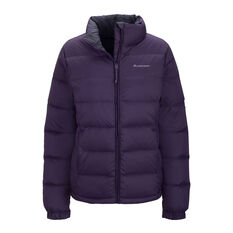 Macpac Womens Halo Jacket Purple 8, Purple, rebel_hi-res