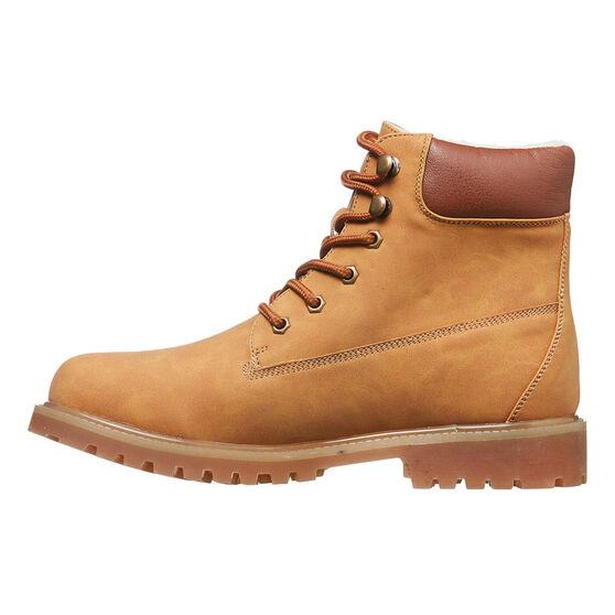 Tahwalhi Womens Snow Plough Boots, Brown, rebel_hi-res