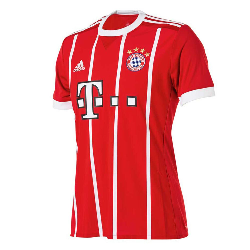 outlet store 27b56 41418 FC Bayern Munich 2018 Mens Home Jersey