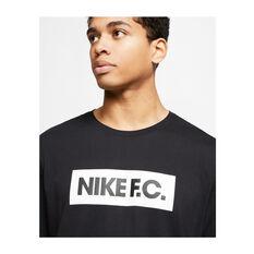 Nike F.C. Mens SE11 Football Tee, Black, rebel_hi-res