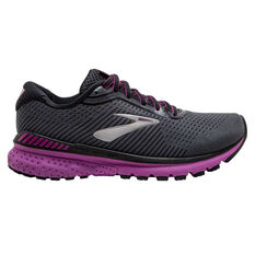 Brooks Adrenaline GTS 20 Womens Running Shoes Grey/Purple US 6, , rebel_hi-res