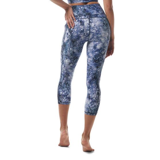 Ell & Voo Womens Kara HR 3/4 Tights, Print, rebel_hi-res