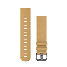 Garmin Quick Release 20mm Tan Suede / Slate Watch Band, , rebel_hi-res