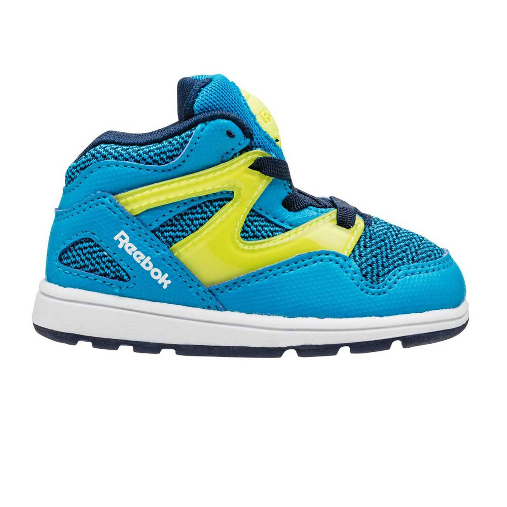 8c52f718aaca6f Reebok Versa Pump Omni Lite Toddlers Shoes Blue   Yellow US 5 ...