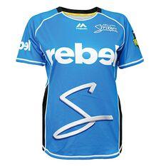 Adelaide Strikers 2018 Womens On Field Replica Shirt Blue 8, Blue, rebel_hi-res