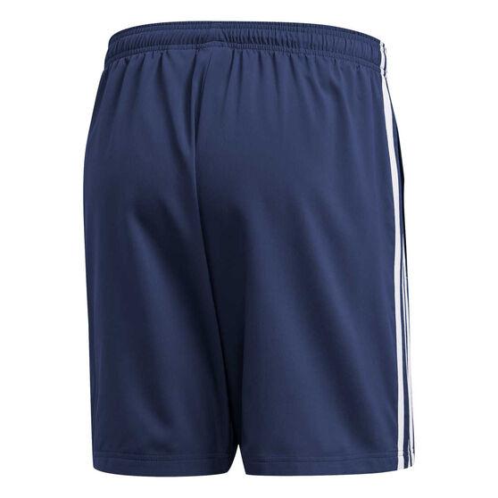 adidas Mens Essentials 3 Stripes Chelsea Shorts, Blue, rebel_hi-res