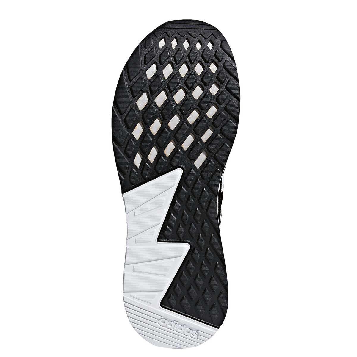 adidas questar und herren - laufschuhe schwarz / weißen uns 12 rebellen - sport