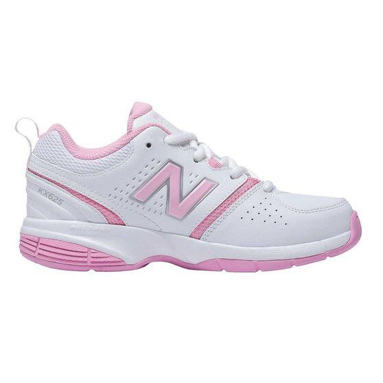 New Balance 625 Girls Cross Training Shoes, White / Pink, rebel_hi-res