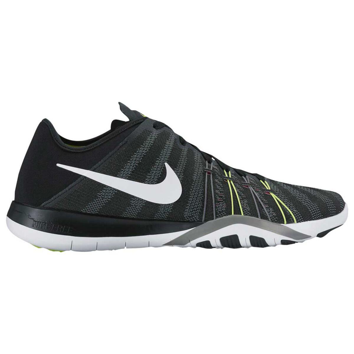 b2bab6be789c ... where can i buy nike free trainer 6 womens training shoes black white  us 6.5 black