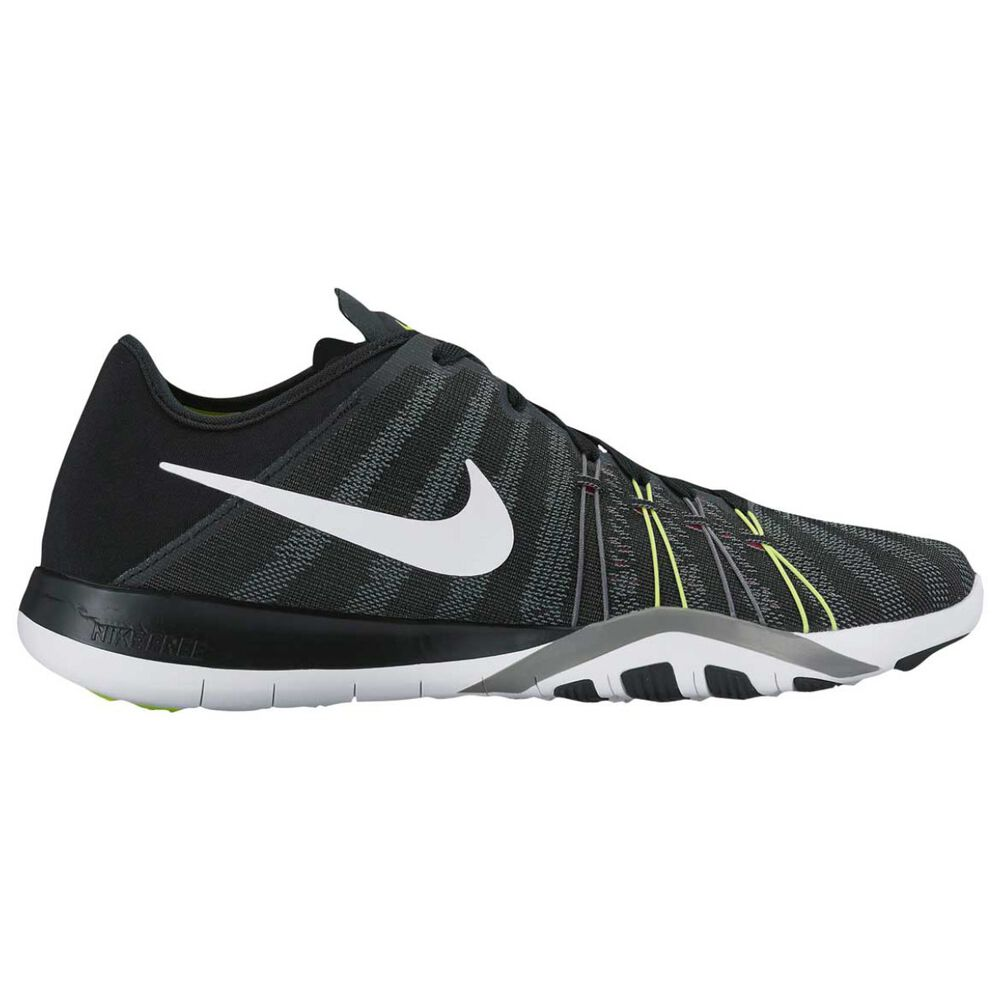 36dcec0c4e38 Nike Free Trainer 6 Womens Training Shoes Black   White US 6.5 ...