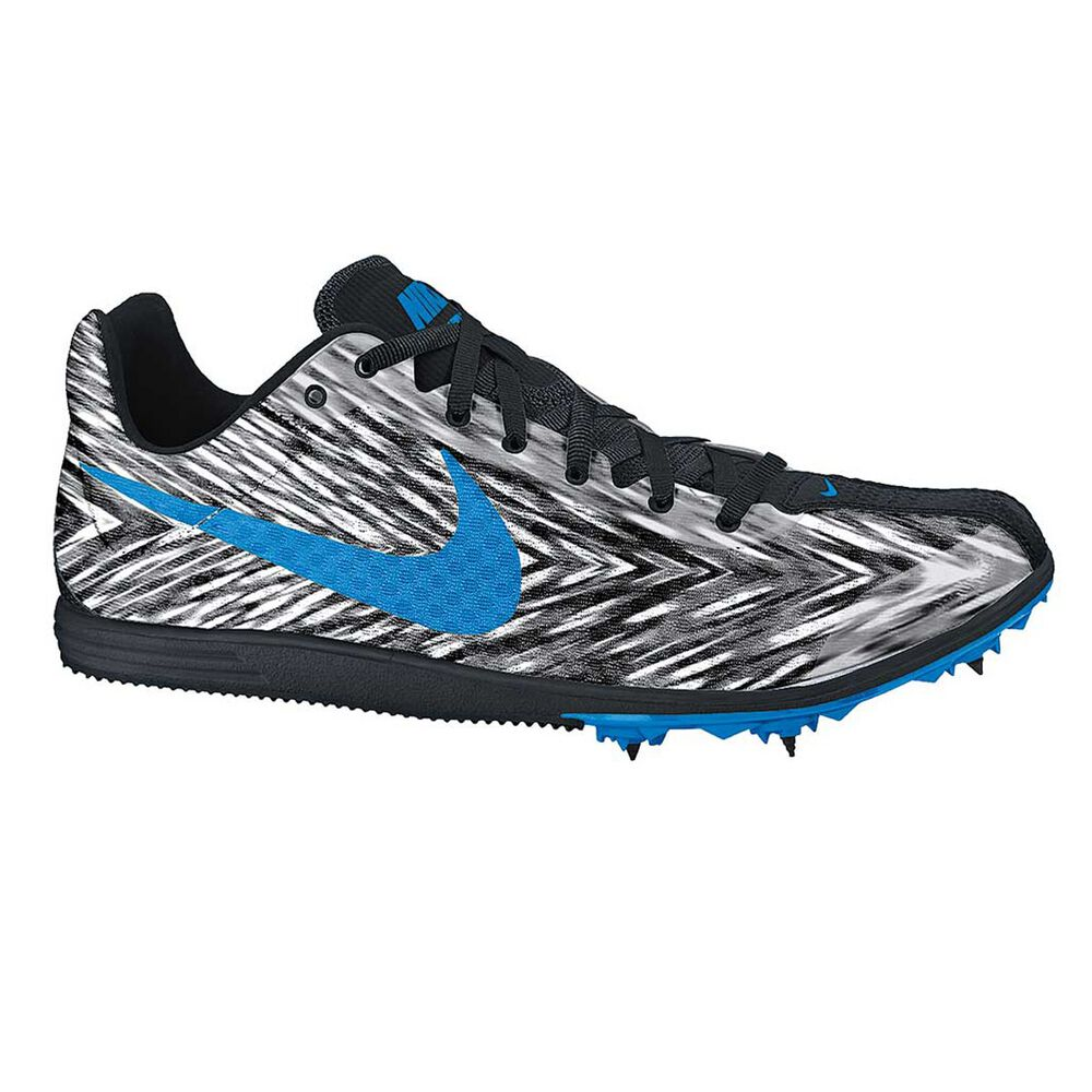 9b84c169bed Nike Zoom Rival D 8 Mens Track and Field Shoes Black   Blue US 11 ...