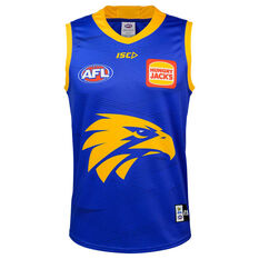 West Coast Eagles 2020 Mens Training Guernsey Blue S, Blue, rebel_hi-res