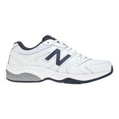 New Balance MX624WN V4 4E Mens Cross Training Shoes White / Navy US 7, White / Navy, rebel_hi-res