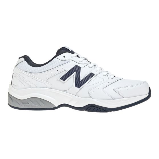 New Balance MX624WN V4 4E Mens Cross Training Shoes, White / Navy, rebel_hi-res