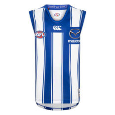 North Melbourne Kangaroos 2020 Kids Home Guernsey Blue/White 8, Blue/White, rebel_hi-res
