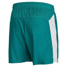 Cricket Australia 2020/21 Kids Training Shorts Green 6, Green, rebel_hi-res