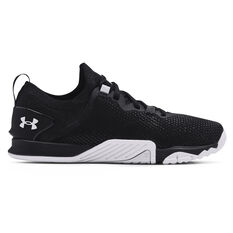 Under Armour Tribase Reign 3 Womens Training Shoes Black/White US 6, Black/White, rebel_hi-res